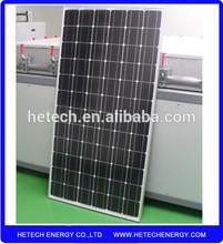 Monocrystalline 300w price per watt solar panels from China supplier