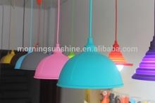 2014 hot sale colorful Silicone Pendant Light