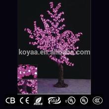 pink outdoor landscape decoration LED flower tree light FZ-672