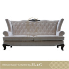 Luxury living room 2014 New design , two-seat Sofa with oxhide leather, AS06-22 from china supplier-JL&C Furniture