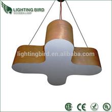 2015 hot sale saa ce ul wood pendant light/decorativing pendant lamp vintage