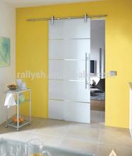 Frameless Glass wall mounted sliding door hardware system (YM-07 series)