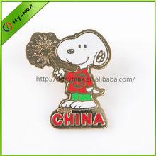 Animal Imitation cloisonne lapel pin manufacturers china