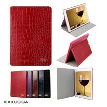 Kaku professional ultra slim cover case for ipad mini 2 with alligator pattern