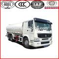 336hp sinotruk caminhão tanque de água 10- roda 20m3 6x4 howo caminhão tanque de água para a venda
