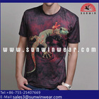 2014 new model gift t shirts 3d animal