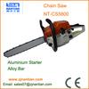 High quality gasoline chainsaw aluminium recoil starter alloy guide bar