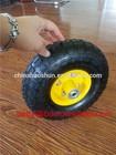 high quality small rubber wheels / kids wagon wheels 4.10/3.50-4
