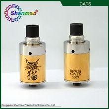 2014 Hot Selling Mechanical Atomizer/cat Atomizer Clone/rda Atomizer