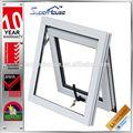 A prueba de agua de aluminio ventana de diseño con la pantalla y AS2208 vidrio templado