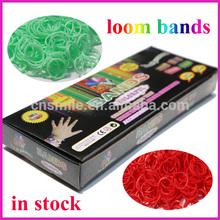 2014 fashion new hot sale cheap bracelet rubber loom bands