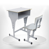 New design metal single chair and desk attached used school