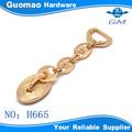 moda güzel çanta altın kaplama metal çanta zincir