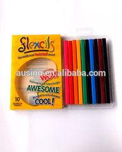 12 pcs pack woodless color pencil EN71/ASTM for OEM and ODM