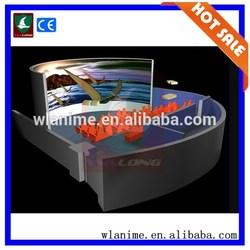 Amusement pack equipment 5d movies , mobile 5d cinema 5d theater equipment ,