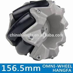 156.5mm industrial grade mecanum wheels