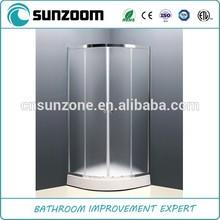 2014 SUNZOOM free standing shower screen,complete shower room, cheap corner shower