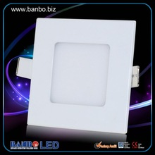 Hot Factory price 3W-70W Round or Square led flat panel wall light