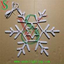 New LED Christmas snowflake light beautiful sparkling 2D snowflake light