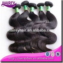 Perfect lady best virgin hair body wave 4pcs peruvian highlight hair