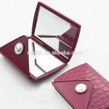 Square plastic make up mirrors,decorative compact mirrors
