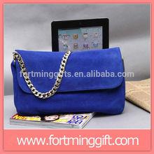 Fashion ladies suede leather shoulder handbags