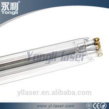 Yongli long working hours 60w Co2 Laser Tube