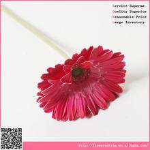 high quality PU material artificial gerbera flower