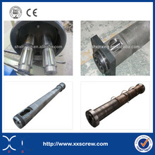 cost of conical twin screw extruder barrel for plastic machine made in China