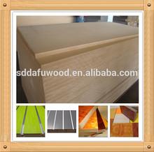 plain MDF board / melamine laminated MDF board / slatwall MDF board
