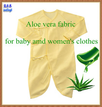 Eco-Friendly fabric antibacterial Aloe vera fabrics super soft fabric for baby