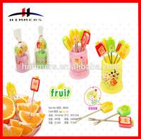 2015 Creative Hot Selling Cartoon Fruit Fork