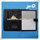 High grade a4 leatehr document folder,business portfolio