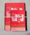 Pp cuaderno espiral para estudiantes de la escuela