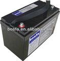 Gb12-100 ups de alta calidad vrla batería 12v100ah vrla batería recargable bateríade12voltios, de plomo ácido de la batería para el generador 100ah agm