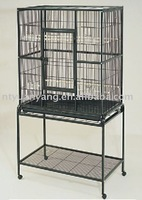 pet accessory bird cage rodent cage with stands