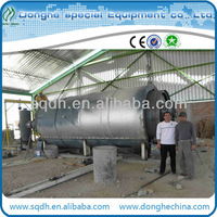 medical waste microwave sterilization machine waste tyres pyrolysis machinery with CE/ISO