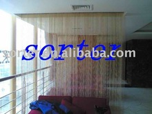 metal beads string curtain for room divider