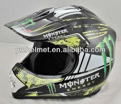 YM-210 kids child atv motorcycle cross full face helmet