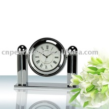 Fashion metal table clock with good quality