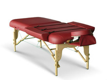 Acrofine Reiki Master Massage Table with special side armrest extension