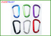Aluminum Carabiner, aluminum camping carabiner ,carabiner hook different sizes