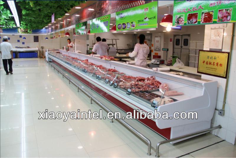 China pato pequeña pantalla supermercado congelador e6 alaska( refrigerador) con certificación ce