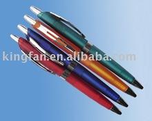 promotional plastic push action pen