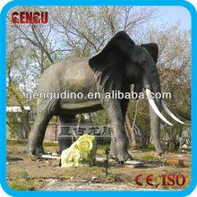 large animal sculptures - robotic elephant