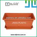 maceta de plantación de vegetal casera de jardín de plástico