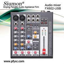 FX602-USB Mini Audio Mixer