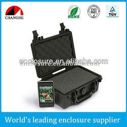 Hard plastic case for equipment