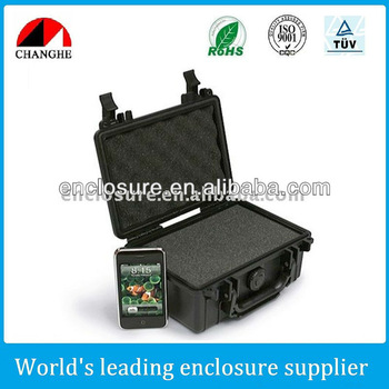 Hard plastic case for equipment