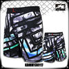 Boxing garment 100% polyester printed fight shorts mma